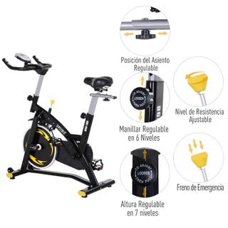 Bicicleta Estática de Spinning Profesional