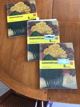 Libros Matemáticas. 5.Primaria.