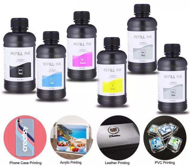 Pack tinta impresión Uv