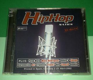HIP HOP CD DOBLE NATION