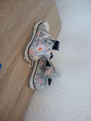 zapatos Converse allí star talla 27