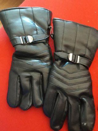 guantes moto tipo Harley