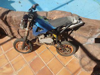 minimoto de croos competición