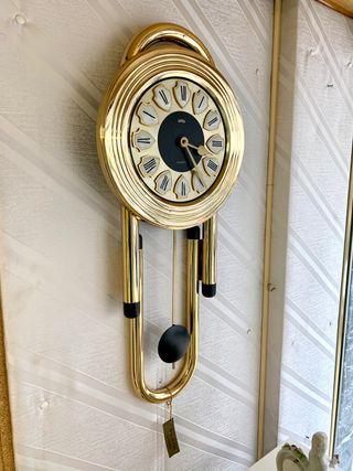 Reloj de pared baño de oro 24k NUEVO