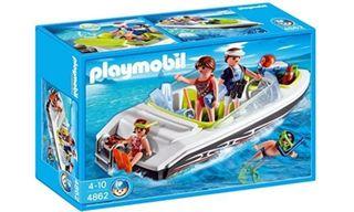 Playmobil lancha