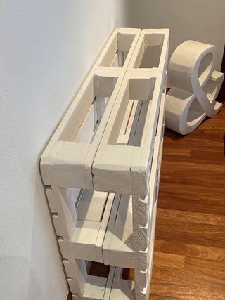 Mueble recibidor palet