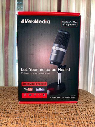 Pack AverMedia AM310. Streaming-Youtuber