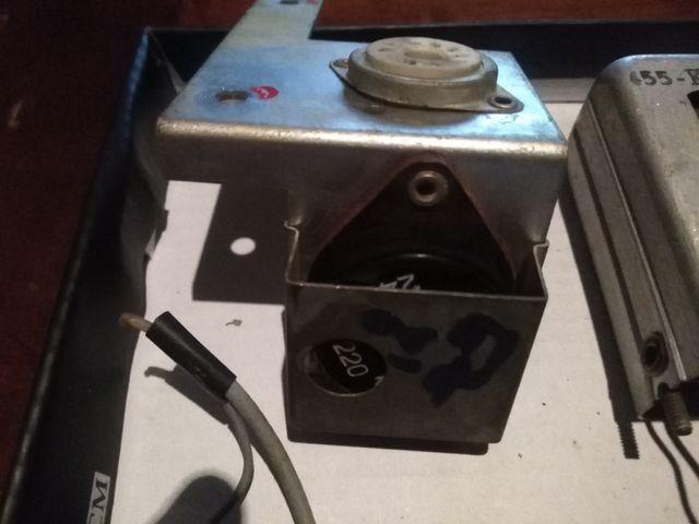 radio antigua componentes