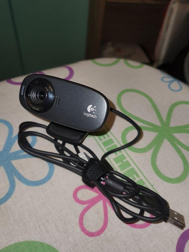 camara logitech HD 720p