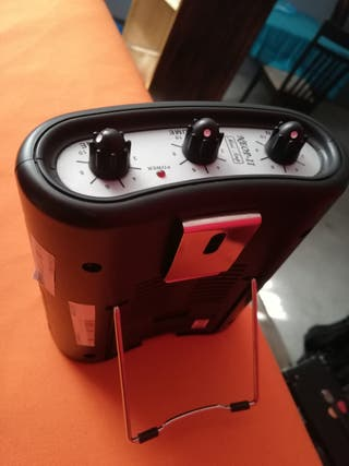 Mini amplificador/guitarra E