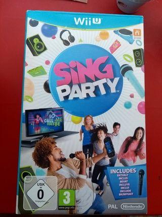 Nintendo Wii U - Micrófono + Sing Party