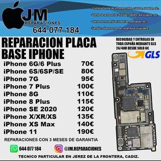REPARAR PLACA BASE IPHONE ECONÓMICO