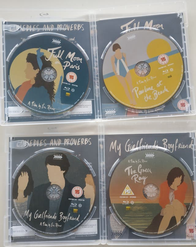 Eric Rohmer 100 - Comedies and Proverbs Special Ed