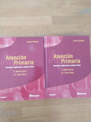 Libros de Medicina. Atención Primaria.Martín Zurro