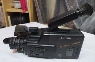 Cámara de Vídeo Philips vintage