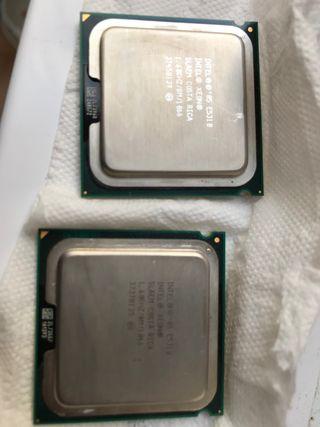 Intel xeon E3510 y ram