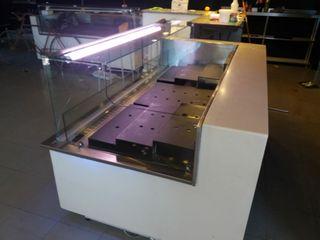 cámara vitrina frigorífica