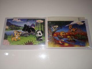 puzzles animales