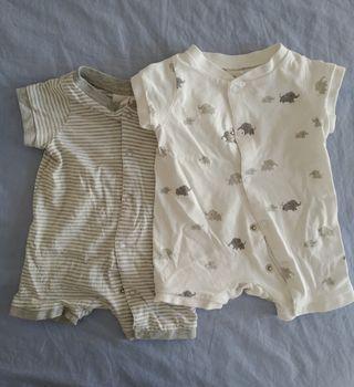Pack pijamas verano bebé H&M