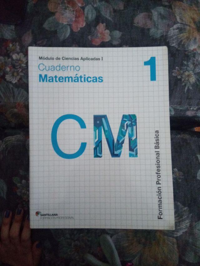 cuaderno matematicas
