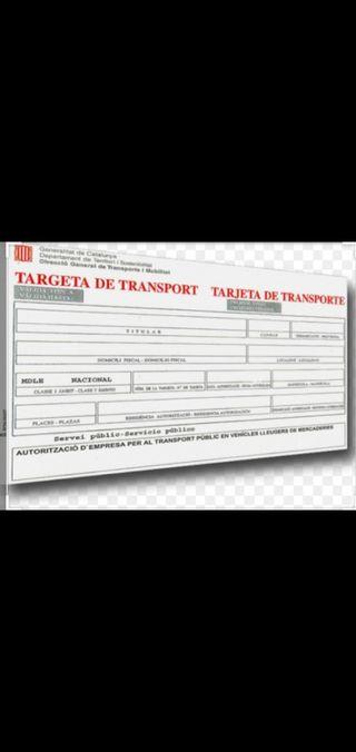 tarjeta de transporte mdl 1997