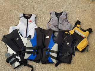 Chalecos kitesurf, wakeboard, windsurf