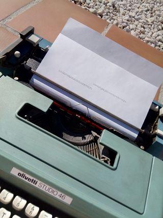 Máquina escribir Olivetti Studio 46