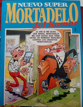 COMICS MORTADELO Y FILEMÓN