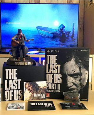 Contenido coleccionista The Last of Us II PS4