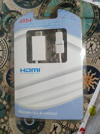 Cable micro-USB a HDMI NUEVO
