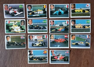 Todos los cromos de la colección MIX 92 de F1