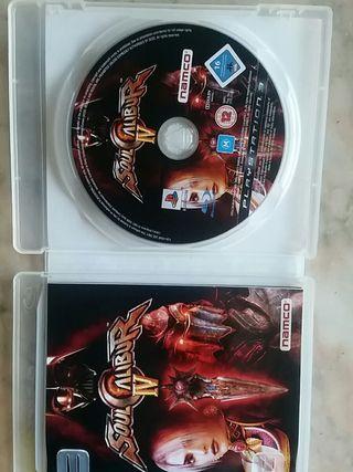 Soul Calibur IV edición platinum ps3