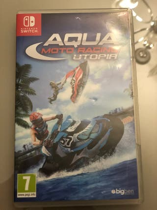 Nintendo switch Aqua moto racing