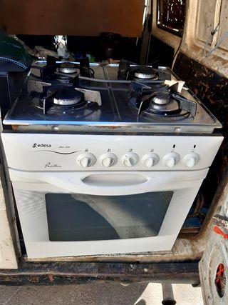 horno con la placa