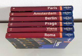 Guías de Roma-Viena-Praga-Berlín-Amsterdam-París