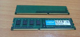 Memoria RAM de 8 GB - DDR3 - 2 x 4 GB - CRUCIAL