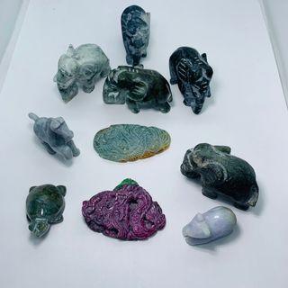 Figuritas de Jade