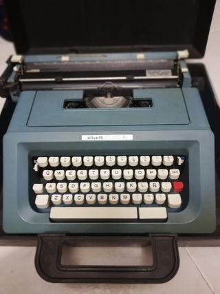 máquina de escribir Olivetti studio 46 vintage