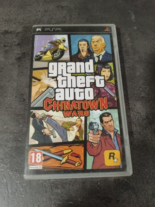 Grand Theft Auto Chinatown Wars (Juego Psp)