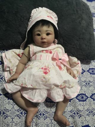 muñeca rebort talla 0/3 meses