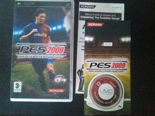 PES 2009 PSP