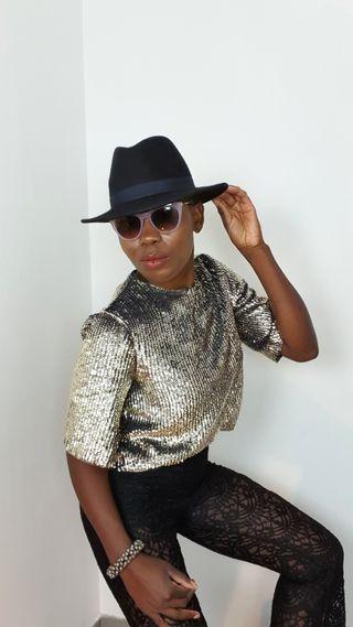 blouse manches courtes Topshop.