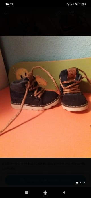 botas niño zara