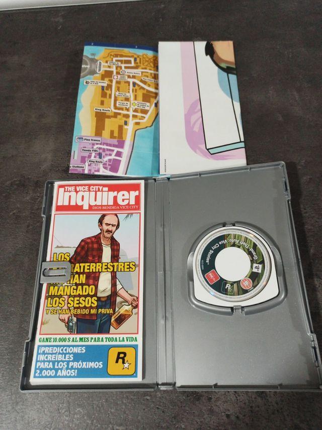 Gran Theft Auto Vice City Stories (Juego Psp)