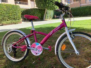 Bicicleta de niña rin 20