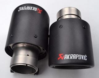 Colas de escape Akrapovic