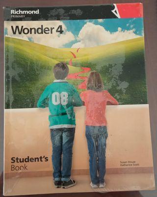 Libro de inglés wonder 4 Richmond
