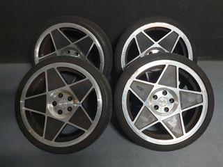 llanta 19 pulgadas con neumáticos