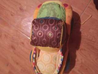 coche peluche diferentes texturas