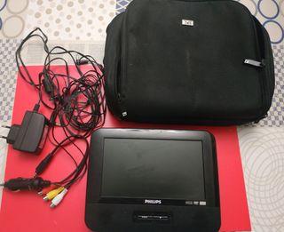Reproductor DVD portátil para coche y/o casa.